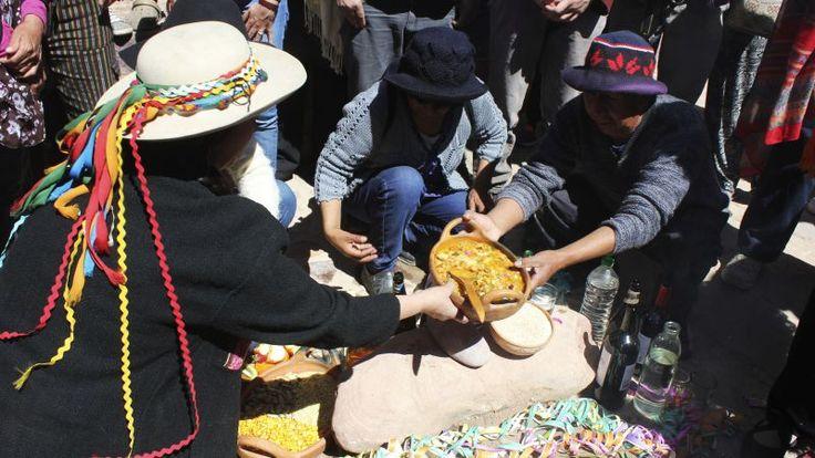 El norte celebra a la Pachamama