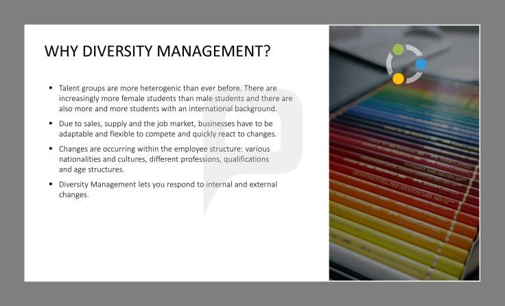 the importance of diversity in the management of companies Companies abstract the importance of language management in multinational companies has never been greater  (the language diversity.