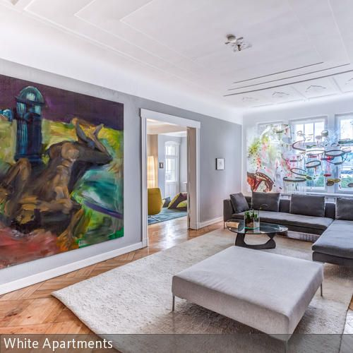 17 besten Wohnzimmer Bilder auf Pinterest | Altbauten, Schöner ...