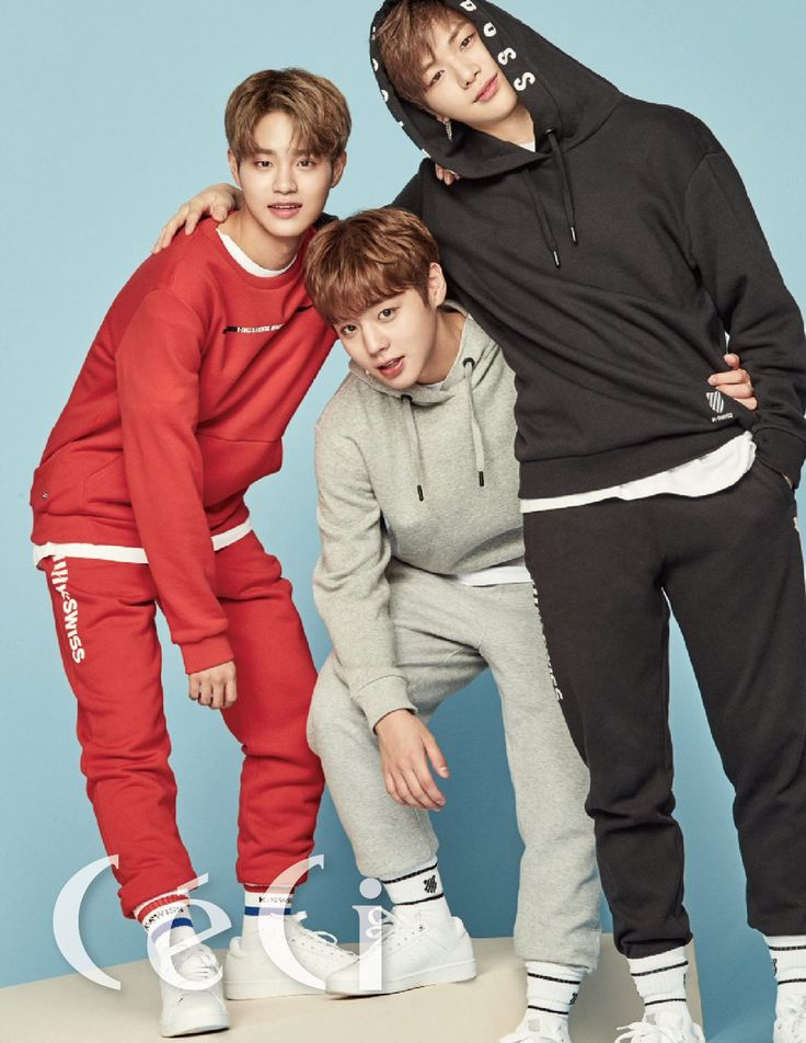 Daehwi, Jihoon and Daniel