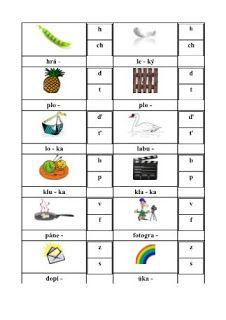 Školní hrátky: 2.ročník