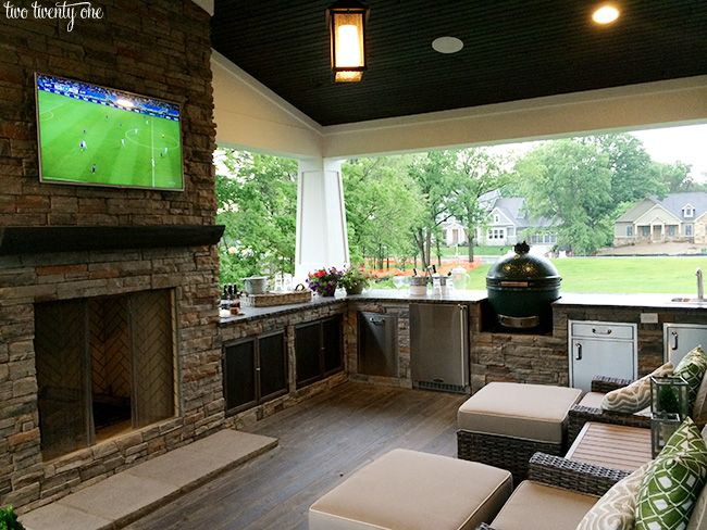 outdoor living area - obsessed