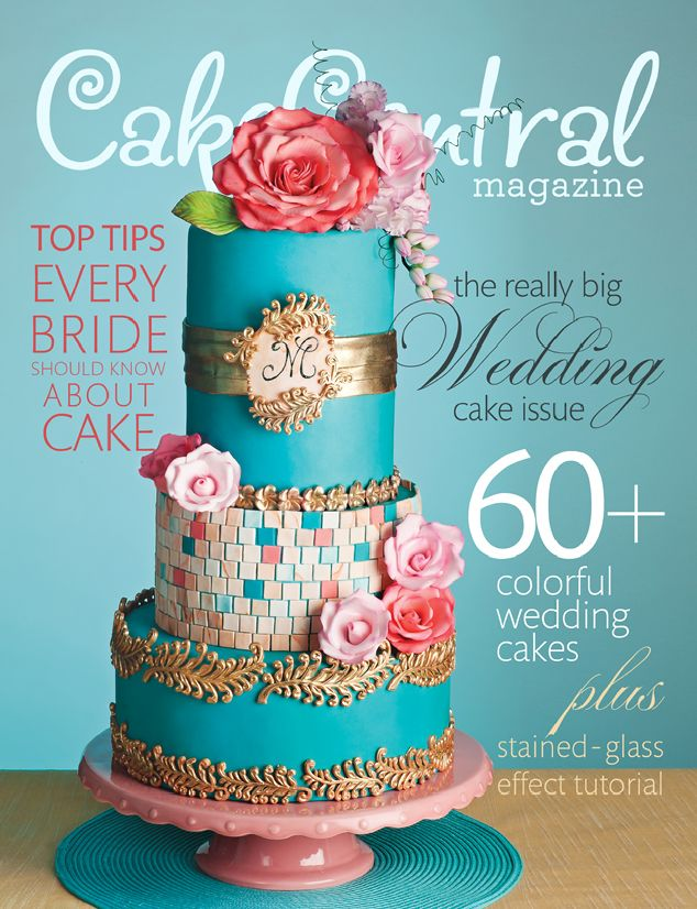I Was Honored To Be Asked Create A Cake For Central Magazine Never In My Wildest Dreams Did Imagine It Would The Cover Of July Edition