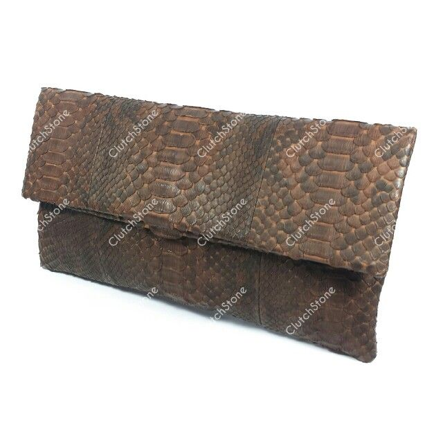 Mini frizi medium python skin brown with pattern size 17x32, suede cloth inside IDR : 450.000 exclude shipping