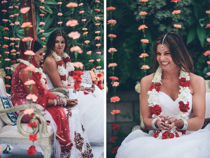 lesbian indian wedding. so beautiful