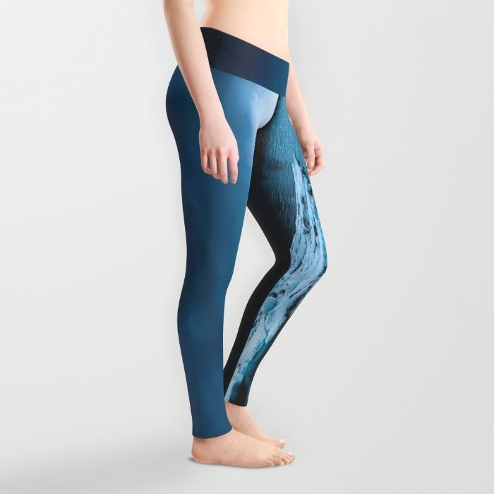 Blistering Cold Leggings by Mixed Imagery | Society6