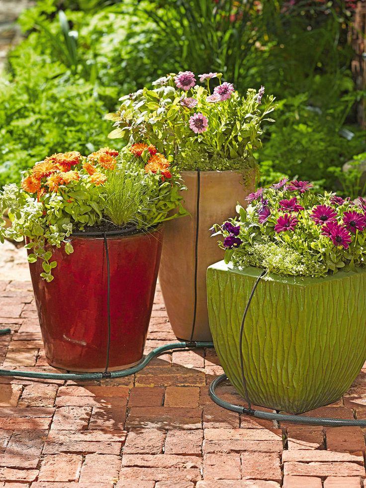 Snip N Drip Pot And Planter Soaker System Garden