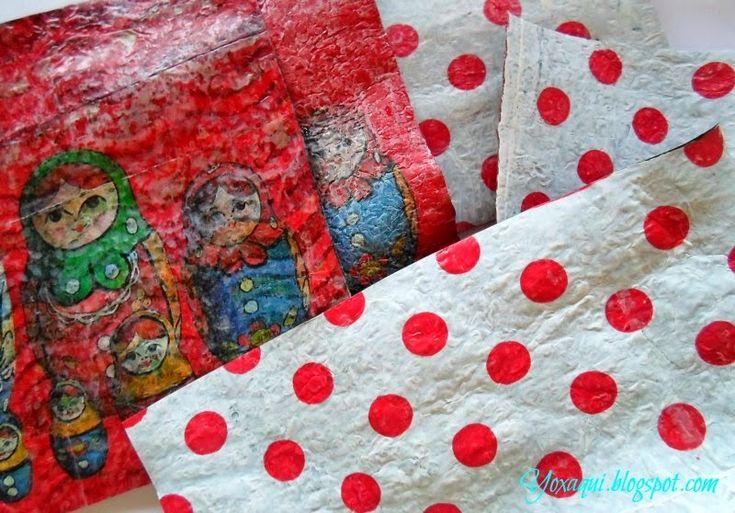 Reciclaje de bolsas plásticas   tutorial