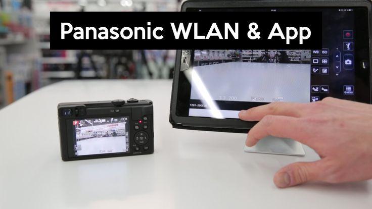 Panasonic Image App | Fotos kabellos auf das Smarphone übertragen und fernsteuern - YouTube
