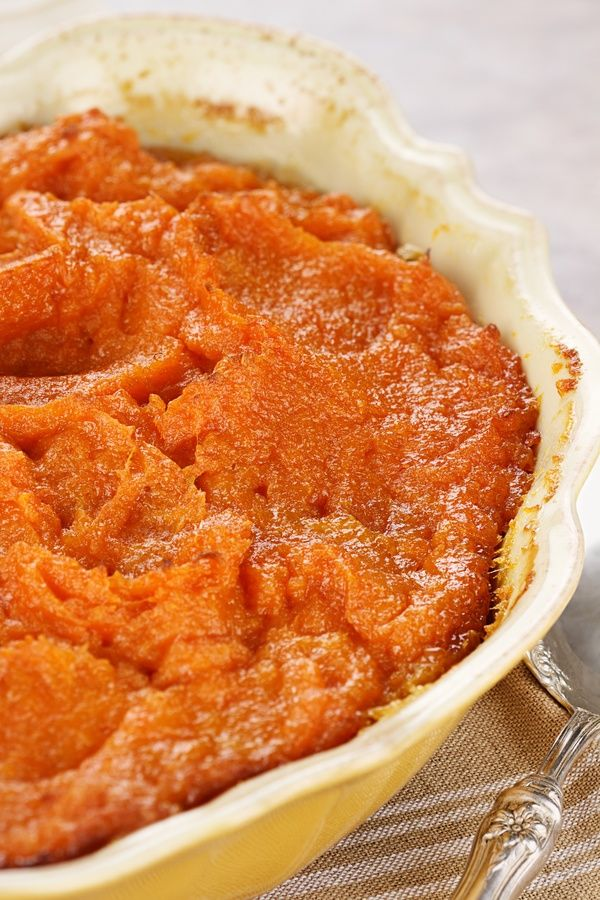 Bourbon-Infused Side Dish: Mashed Sweet Potatoes
