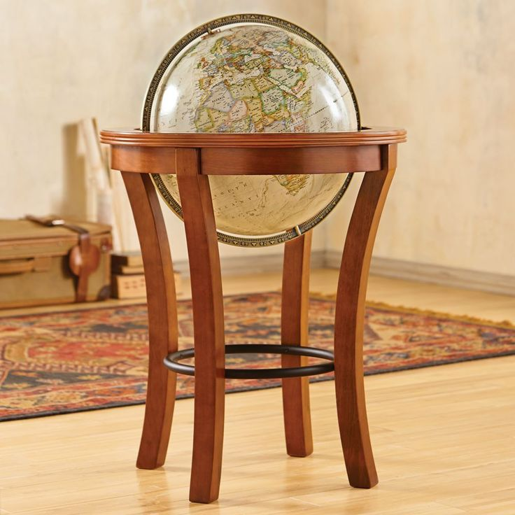 Our Garrison Floor Globe For Your Living Room Or Office Brings A Bold  Profile And Executive