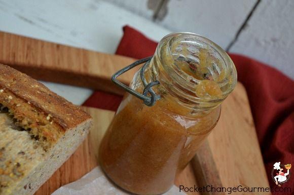 Stovetop Apple Butter Recipe :: PocketChangeGourmet.com