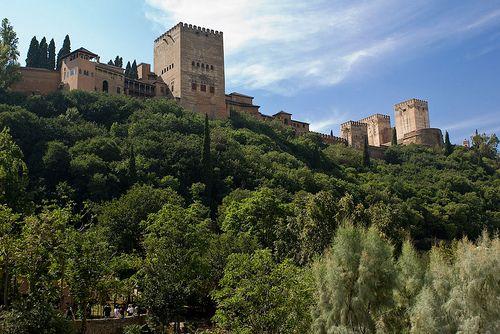 Альгамбра (Alhambra)  Гранада, Испания