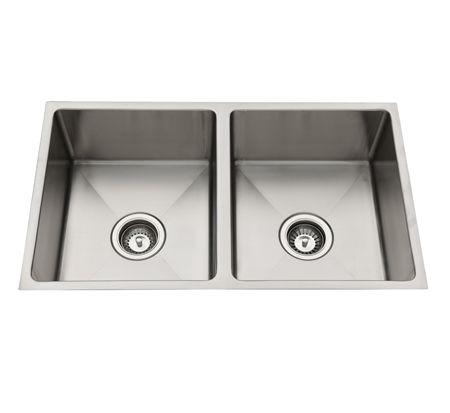 Squareline Double | Undermount sinks $346