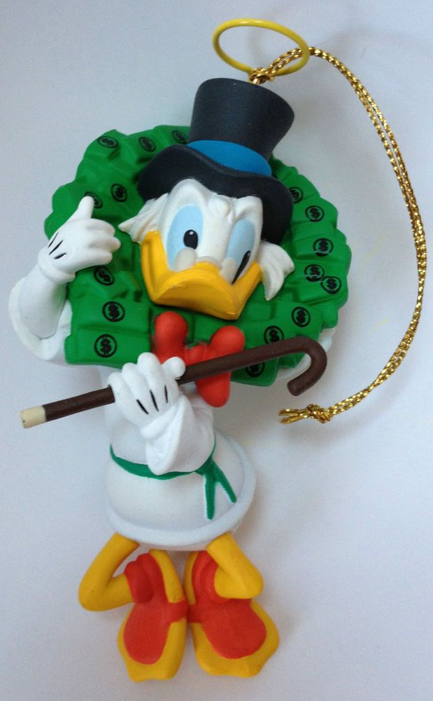 Walt Disney Donald Duck Scrooge Grolier Collectible ...