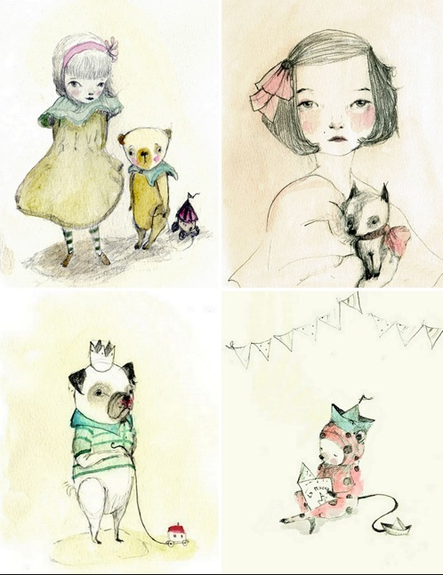 Paola Zakimi illustrations http://www.paolazakimi.com/p/illustrations.html