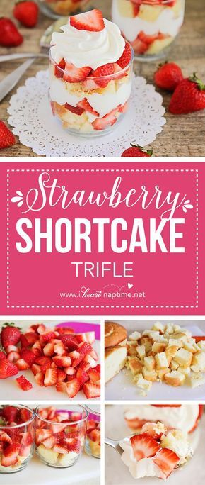 This strawberry shortcake trifle is the perfect no-bake summer dessert. It's easy to make for a crowd and super delicious!