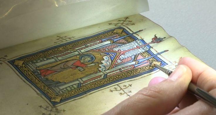 Illuminated Manuscripts -- Digitizing at The Walters Art Museum