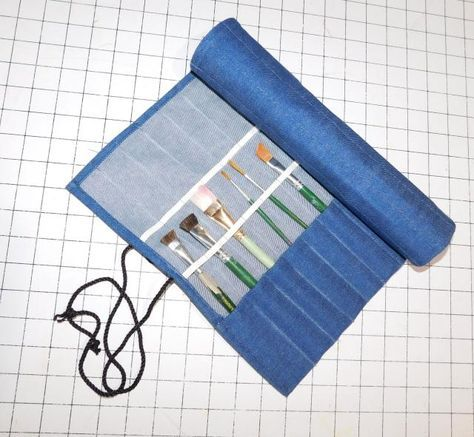 Sew a Simple Project to Protect Your Paint Brushes!: Sew a Paint Brush Roll Up - Gather Your Materials