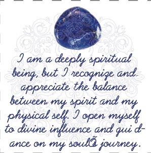 Sodalite Affirmation in our Crystal Affirmations eBook