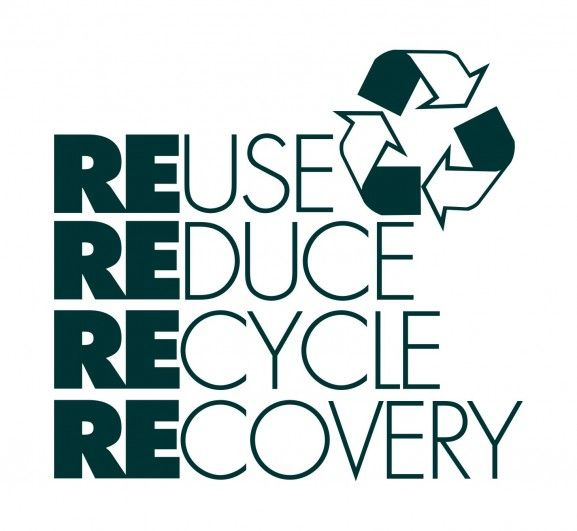 logo 4 r reuse reduce recycle recovery