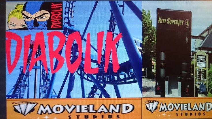 Италия NEW  Movieland Studio: DIABOLIK  Invertigo boomerang |Kitt SuperJ...