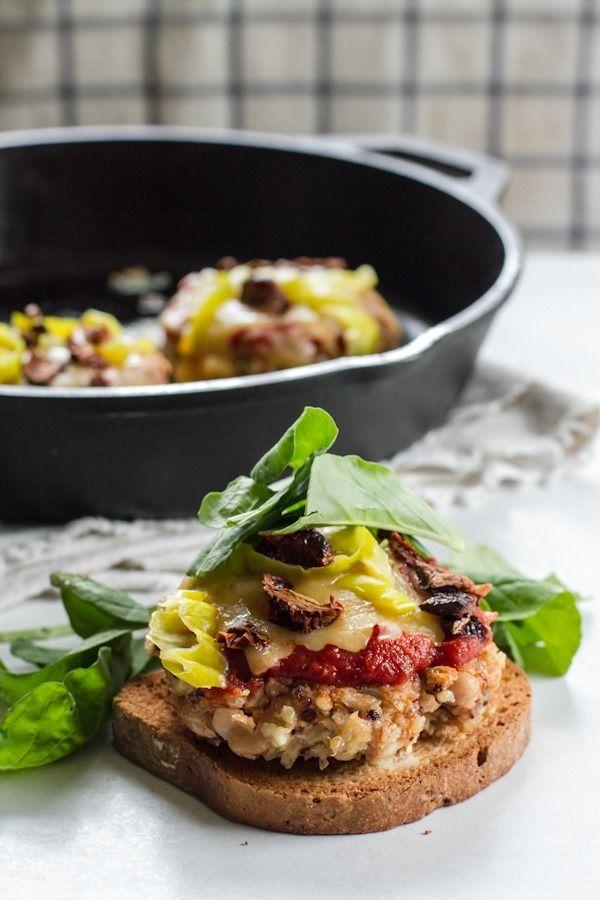 pizza quinoa bean burgers   edible perspective