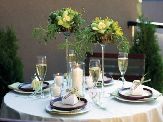 29 best Modern Summer Table Decorating images on Pinterest Table - contemporary table centerpieces