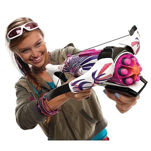 Les filles aussi ont droit à leurs armes avec Nerf Rebelle.