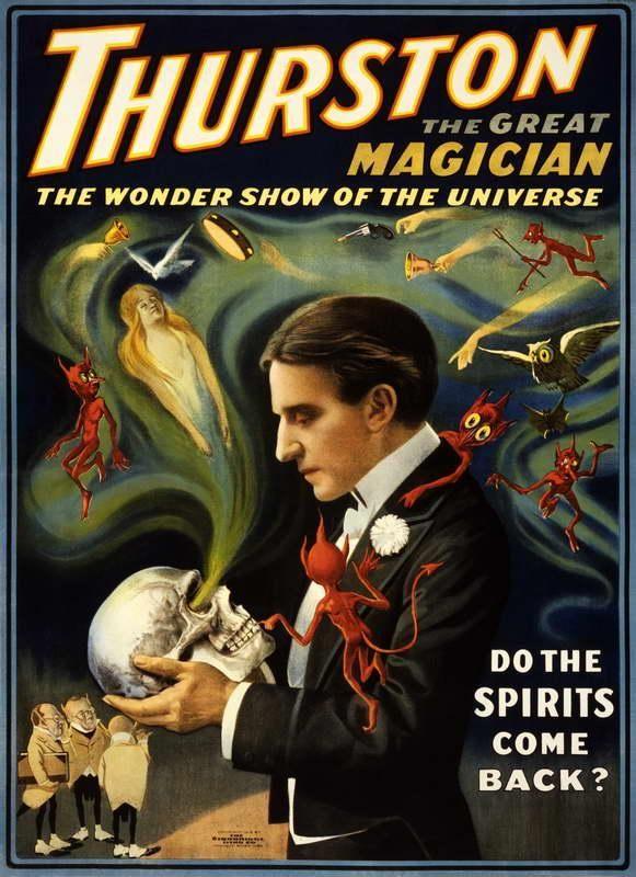 Thurston el gran mago , la demostración de la maravilla del universo