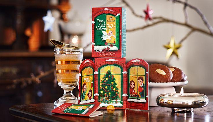 #Teeadventkalender von #SONNENTOR - Den Advent mit 24 Tees genießen!