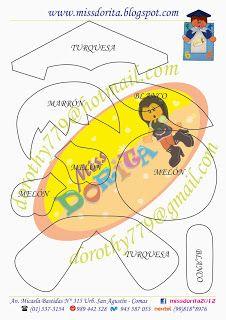 Miss Dorita: Portafoto de Niño Graduado