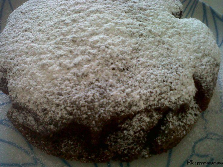 Torta moretta al caffè, torta senza uova, burro, latte e olio, ricetta semplice