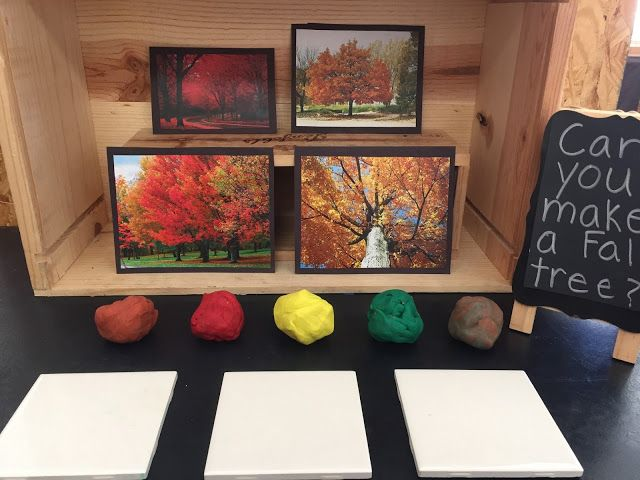 Inquiring Minds: Mrs. Myers' Kindergarten: Mixing Art and Science As We Learn About Fall