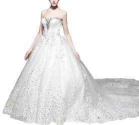 dapene-long-trail-white-bride-wedding-dress