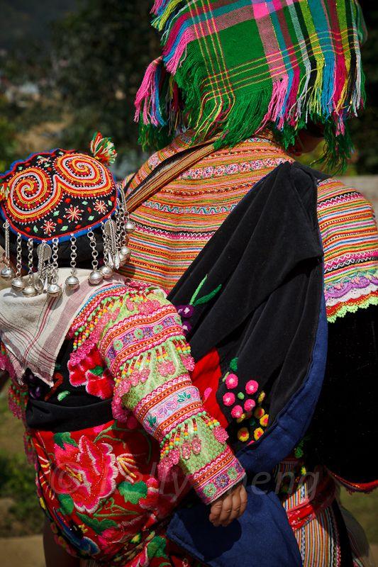 Die Einheimische, Flower Hmong - Sapa