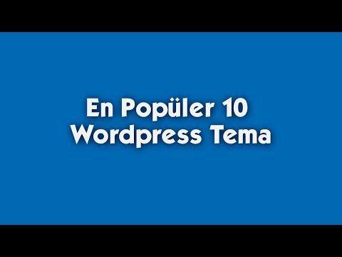 En Popüler 10 Wordpress Tema -  Top 10 Wordpress Themes - http://www.bestfreewordpressplugins.com/en-populer-10-wordpress-tema-top-10-wordpress-themes/