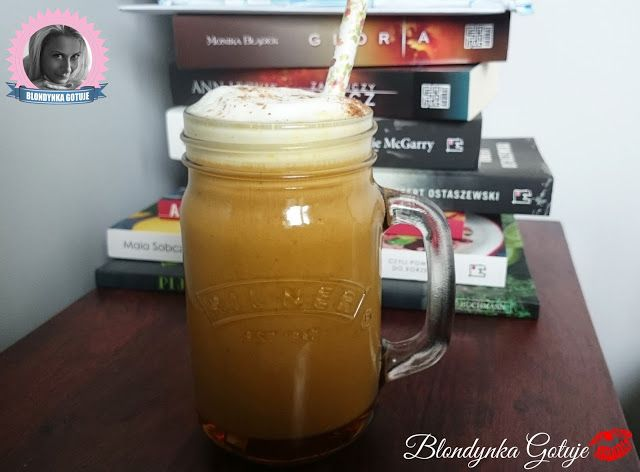 Blondynka Gotuje: Dyniowe Latte
