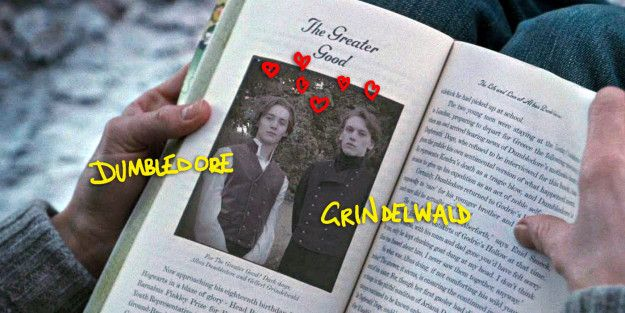 Dumbledore verliebte sich in jungen Jahren in Gellert Grindelwald, bevor dieser zum schrecklichsten schwarzen Magier vor Voldemort wurde.