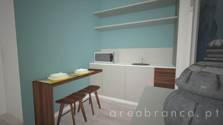 Sala de Funcionários | Staff Room #arquitetura #areabranca #architecture #designinteriores #interiordesign