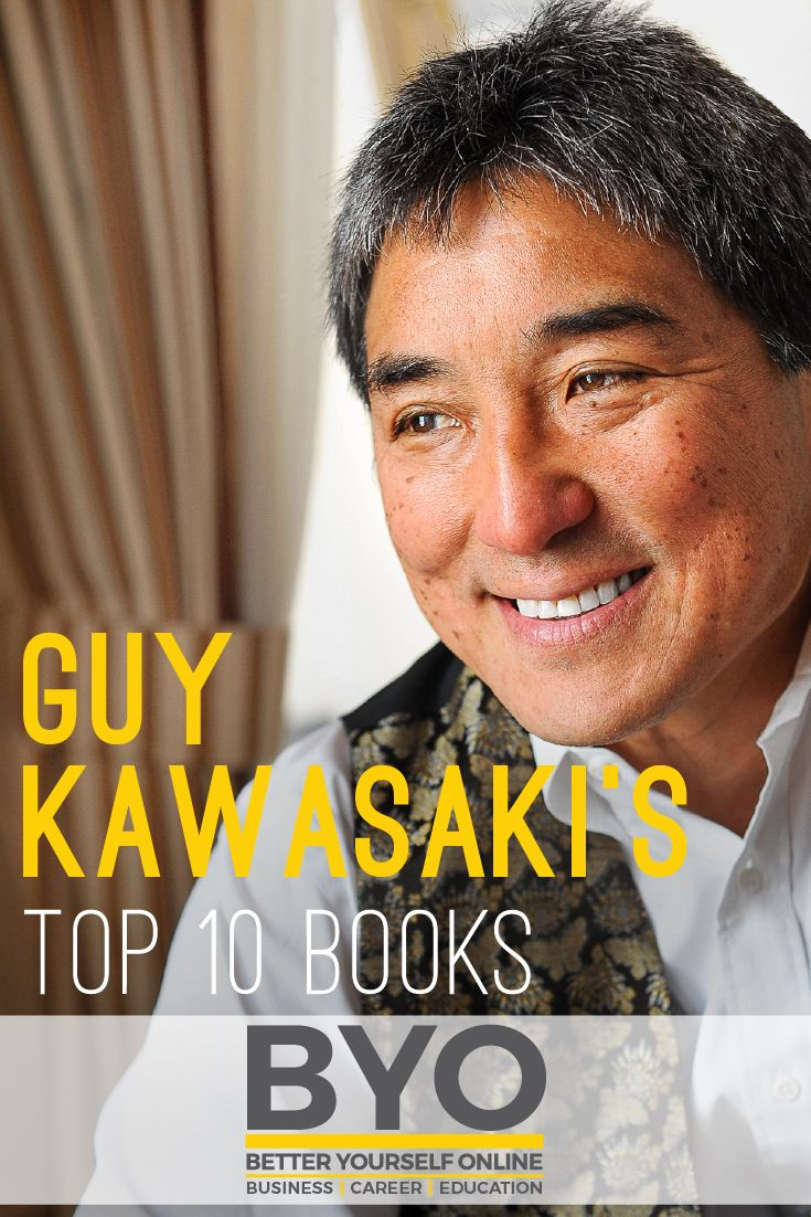 Guy Kawasaki's Top 10 Books