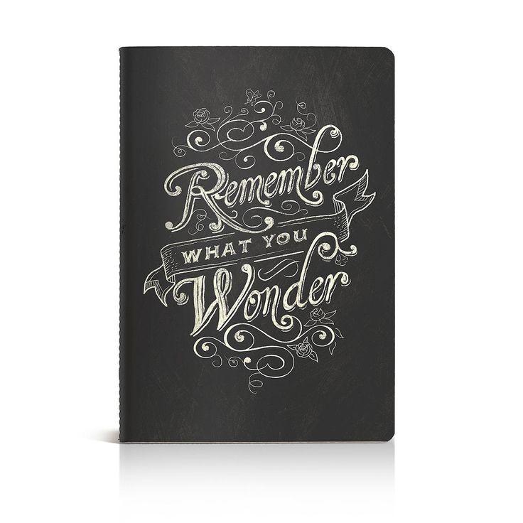chalk shoppe notebook