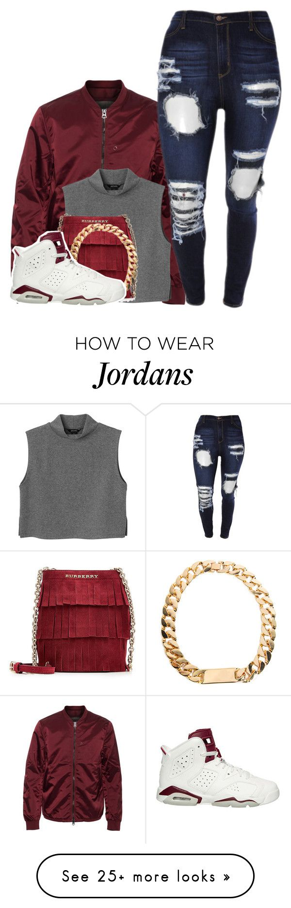 """""""SORRY NOT SORRY"""" by alexanderbianca on Polyvore featuring Acne Studios, Monki, Burberry and NIKE"""