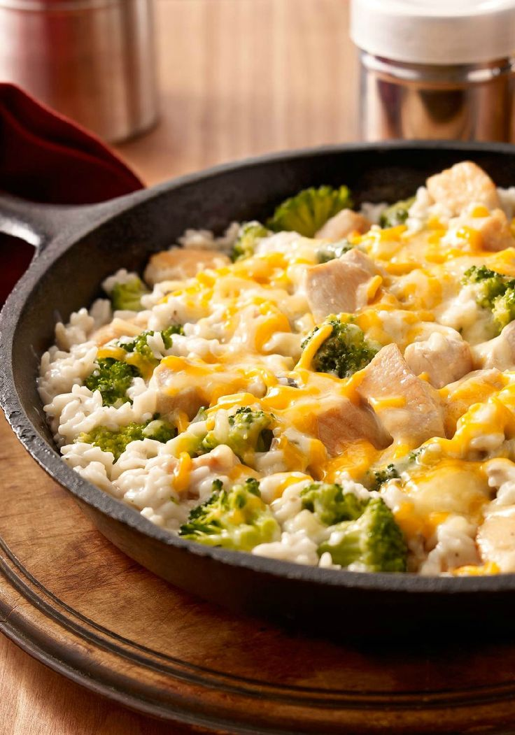 Easy Chicken and Broccoli – It only takes one pan to whip up this chicken, rice and broccoli—and to show the family how delicious a Healthy Living recipe can be. As if simple cleanup wasn't good enough, this dish can be ready for the dinner table in just 20 minutes time. Not too shabby for a weeknight!
