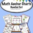 ($7.00) This download includes ALL 13 of the math anchor charts found in this store.  Each poster is also available individually.  The charts look great wh...