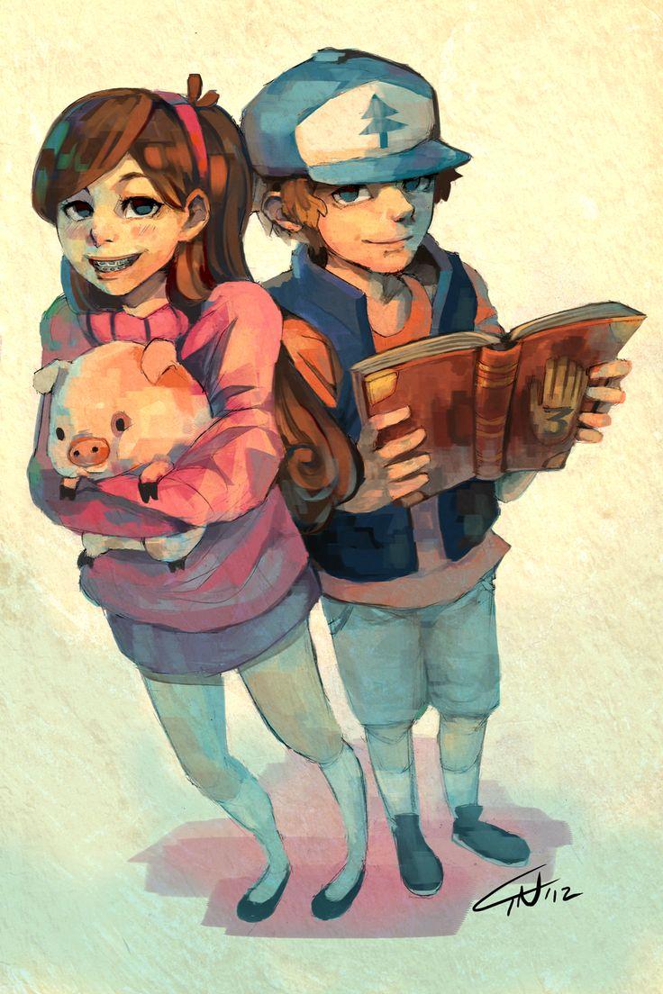 Mabel & Dipper http://25.media.tumblr.com/tumblr_mc2i6mt6Zi1qdoopto1_1280.png