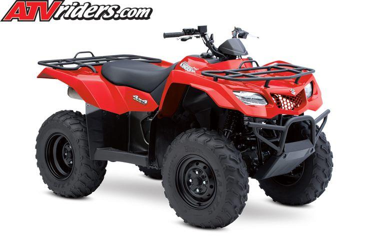 suzuki king quad 400 | 2014 Suzuki King Quad 400 ASi Red Utility ATV