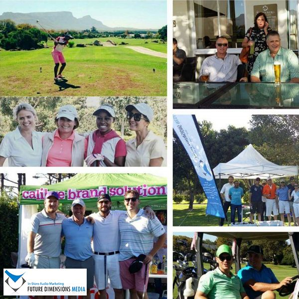 We sponsored the 15th hole at the WOOLWORTHS SA & Project Pink Flamingo for Breast Cancer Foundation of the Ozarks golf day at Steenberg. The lovely Elena Afrika-Bredenkamp and Jeannie D also showed their support with some good swings.