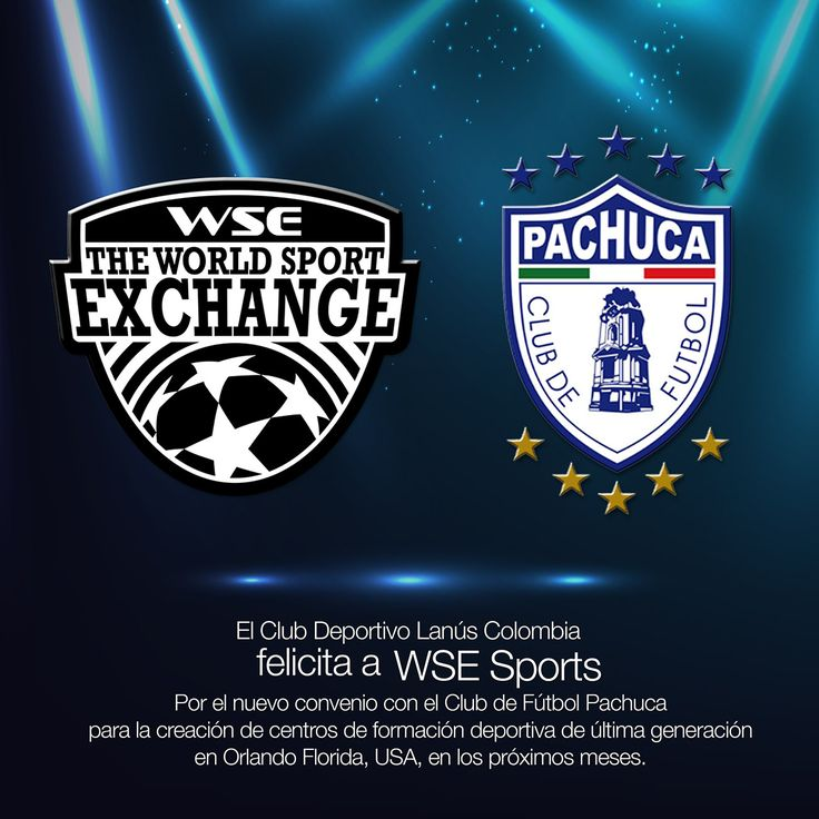 Los directivos de WSE SPORTS Alberth Ortiz y Jazmín Aldana viajaron la semana para establecer un convenio con del Club de Fútbol Pachuca que permitira la creación de nuevos centros de formación deportiva e intercambios deportivos de jugadores colombianos en México.