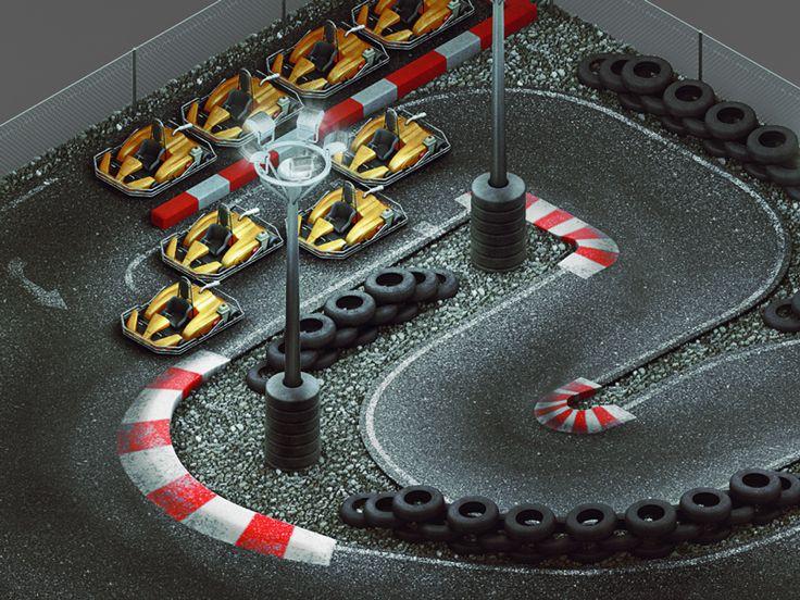 Kart Circuit Detail